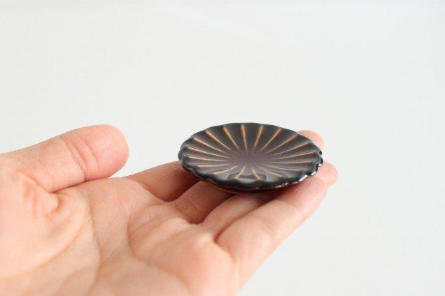 箸置き 漆(茶) 磁器 ぎやまん 美濃焼 画像4