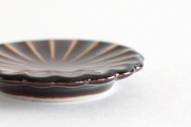 箸置き 漆(茶) 磁器 ぎやまん 美濃焼 画像5