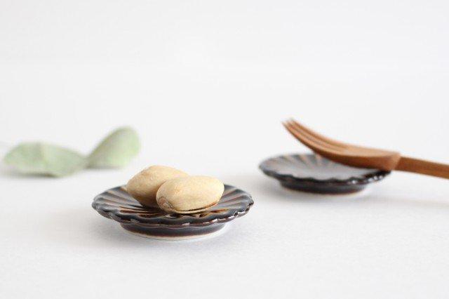 箸置き 漆(茶) 磁器 ぎやまん 美濃焼 画像6