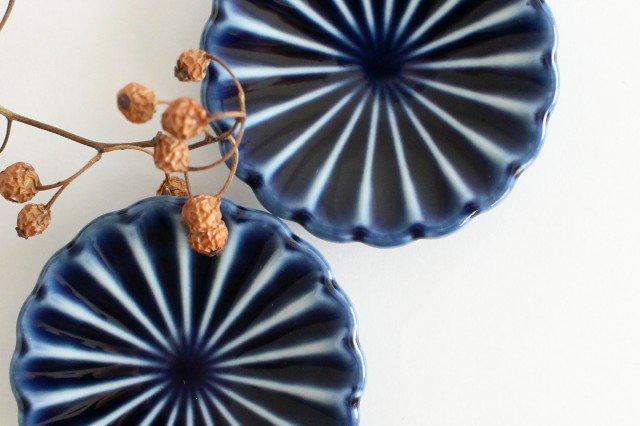 箸置き 茄子紺(青) 磁器 ぎやまん 美濃焼 画像2