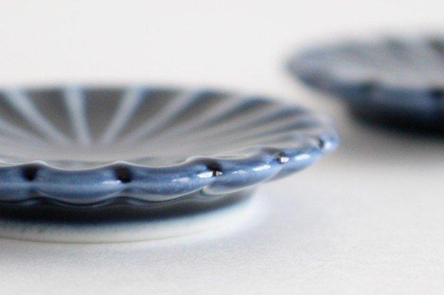 箸置き 茄子紺(青) 磁器 ぎやまん 美濃焼 画像4