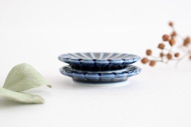 箸置き 茄子紺(青) 磁器 ぎやまん 美濃焼 画像6