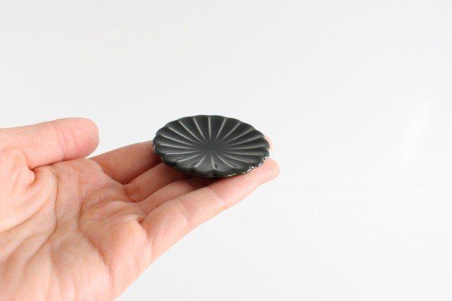 箸置き 墨黒 磁器 ぎやまん 美濃焼 画像5