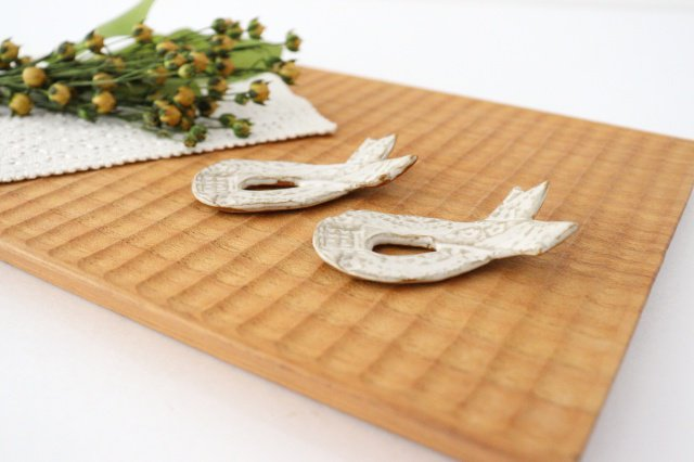リボンの箸置き 陶器 キエリ舎 画像5