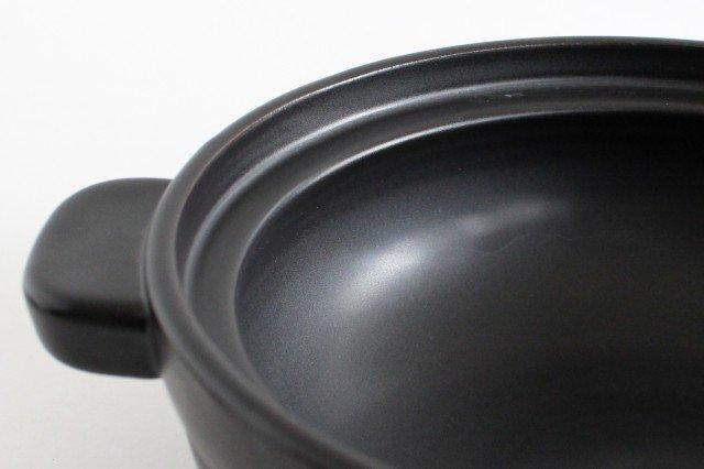 かもしか道具店 土鍋 ふつう 黒 耐熱陶器 中川政七商店 画像5