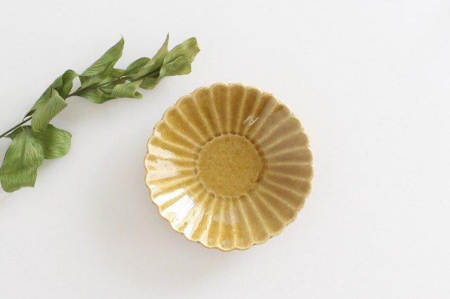 美濃焼 モチーフ 4寸輪花鉢 飴 陶器