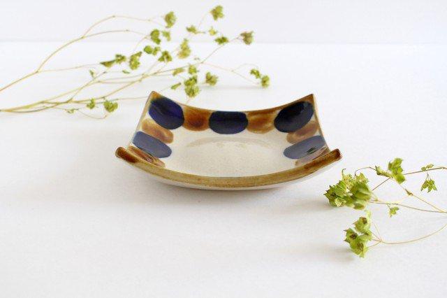 正角皿 輪 陶器 土工房 陶糸 やちむん 画像2