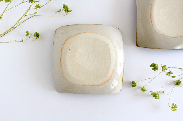 正角皿 輪 陶器 土工房 陶糸 やちむん 画像3