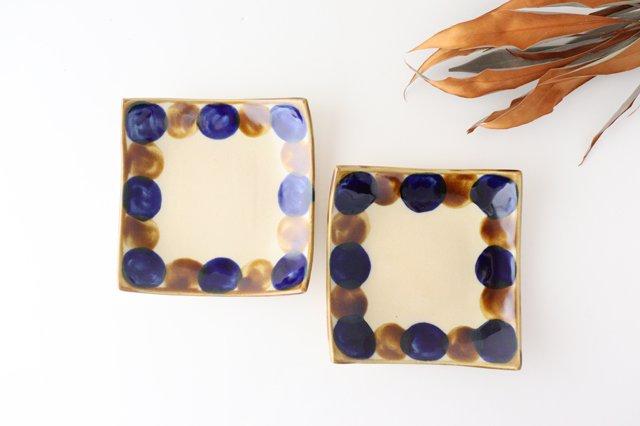 正角皿 輪 陶器 土工房 陶糸 やちむん 画像4
