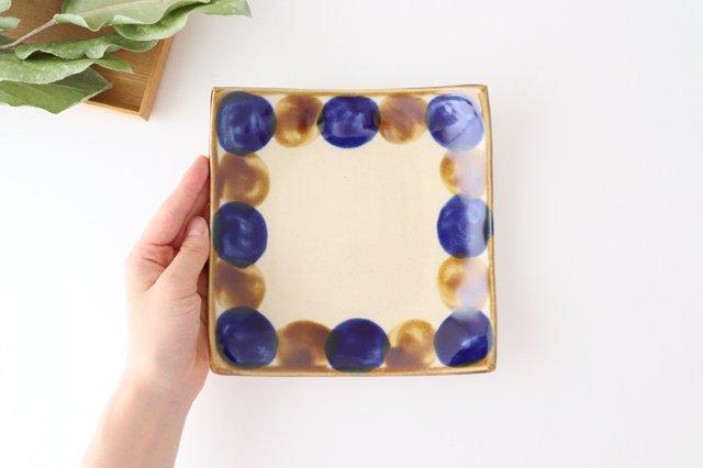 正角皿 輪 陶器 土工房 陶糸 やちむん 画像5