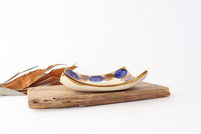 正角皿 輪 陶器 土工房 陶糸 やちむん 画像6