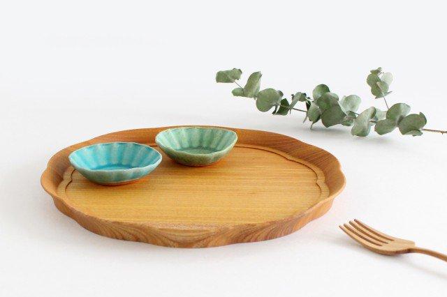 輪花盆 中 ケヤキ 四十沢木材工芸/KITO 画像5