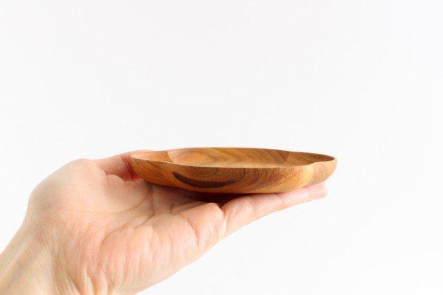 小皿 木瓜 小 桜 四十沢木材工芸/KITO 画像4