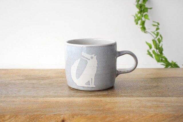 オオカミのマグカップ 陶器 ITOGA POTTERY
