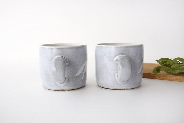 オオカミのマグカップ 陶器 ITOGA POTTERY 画像6