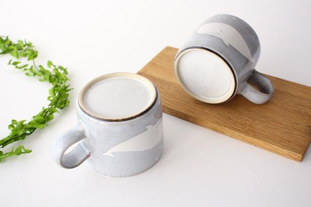 くじらのマグカップ 陶器 ITOGA POTTERY 画像3
