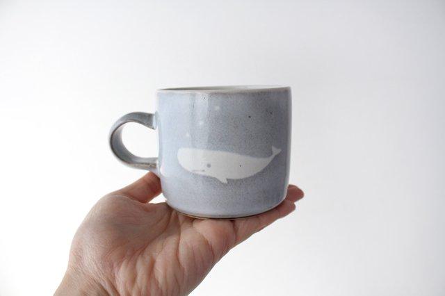 くじらのマグカップ 陶器 ITOGA POTTERY 画像4