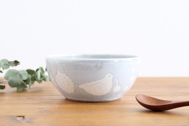 鳥のボウル 陶器 ITOGA POTTERY 画像6