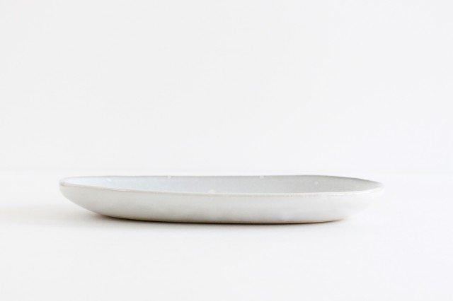 しろくまの楕円皿 陶器 ITOGA POTTERY 画像2
