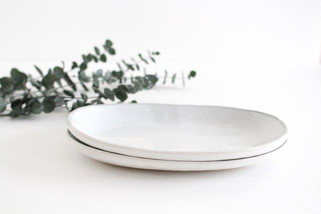 しろくまの楕円皿 陶器 ITOGA POTTERY 画像6