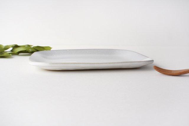 しろくまのプレート 陶器 ITOGA POTTERY 画像2