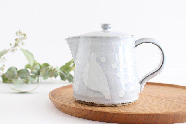 森のコーヒーポット 陶器 ITOGA POTTERY