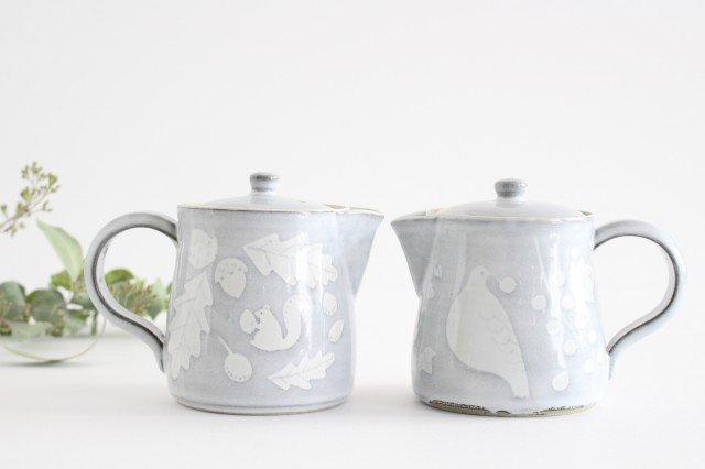 森のコーヒーポット 陶器 ITOGA POTTERY 画像2