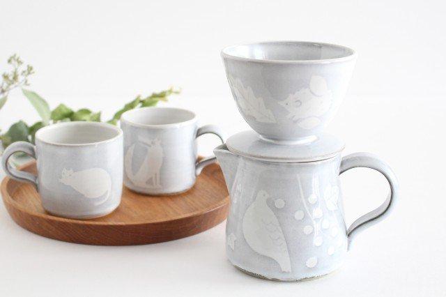 森のドリッパー 陶器 ITOGA POTTERY 画像4