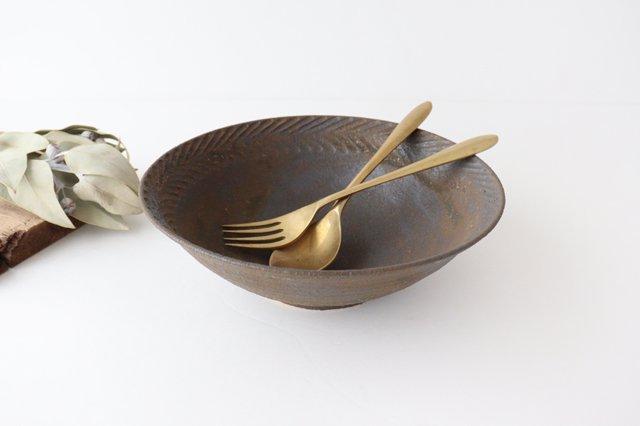 リース7寸鉢 GB 陶器 アトリエキウト 小出麻紀子