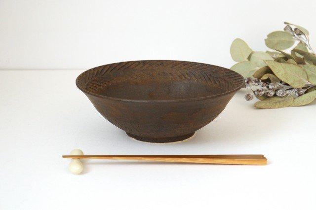 リース7寸鉢 GB 陶器 アトリエキウト 小出麻紀子 画像5