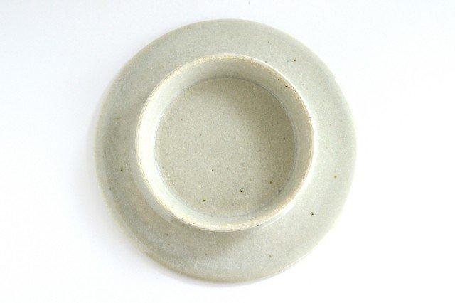 6寸コンポート皿 やわグレー 陶器 たくまポタリー 画像3