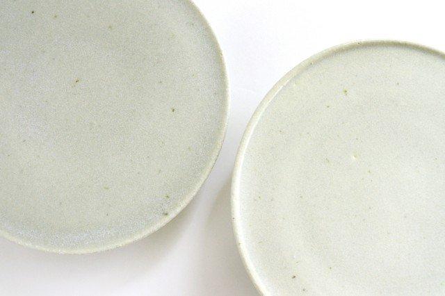 6寸コンポート皿 やわグレー 陶器 たくまポタリー 画像5