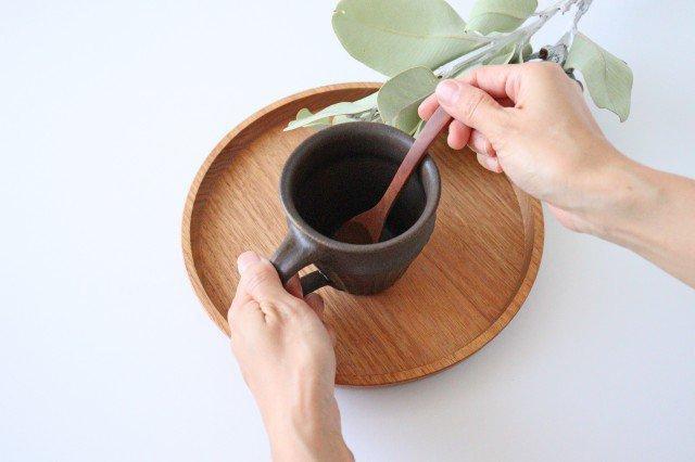 錆釉 しのぎマグ 陶器 古谷製陶所 画像2