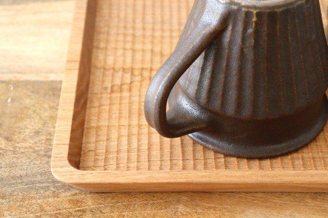 錆釉 しのぎマグ 陶器 古谷製陶所 画像4
