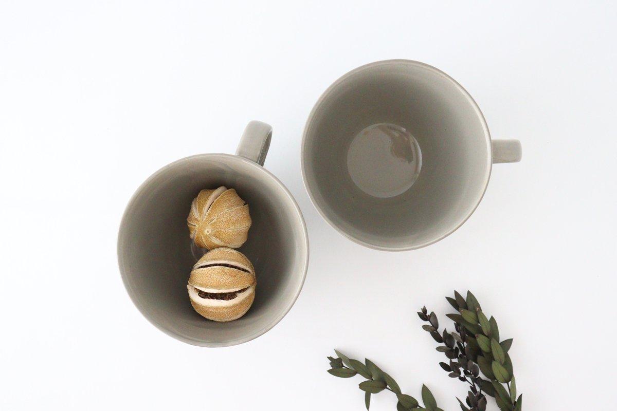 スープカップ グレー 陶器 ローズマリー 波佐見焼 画像2