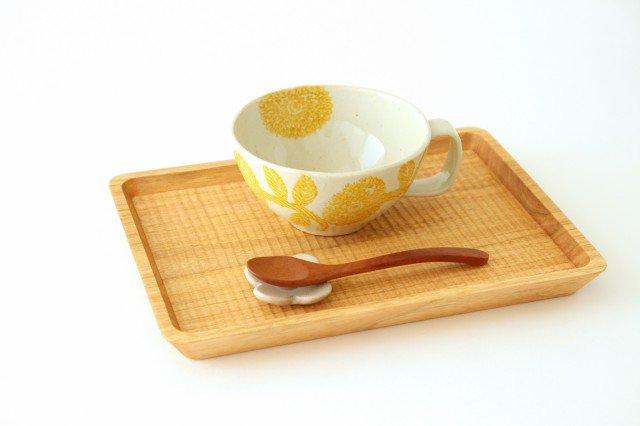 スープカップ 黄 磁器 ダリア 波佐見焼