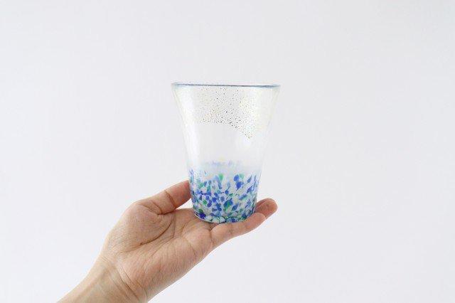 泡づくり グラス 海空 ガラス 津軽びいどろ 画像4