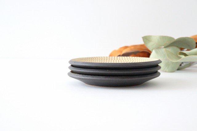 5寸皿 トビカンナ 陶器 ツチノヒ やちむん 画像3