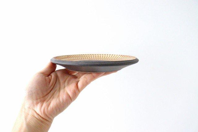 5寸皿 トビカンナ 陶器 ツチノヒ やちむん 画像5