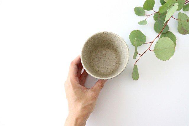 フリーカップ シロクマ 紺 陶器 苔色工房 田中遼馬 画像3