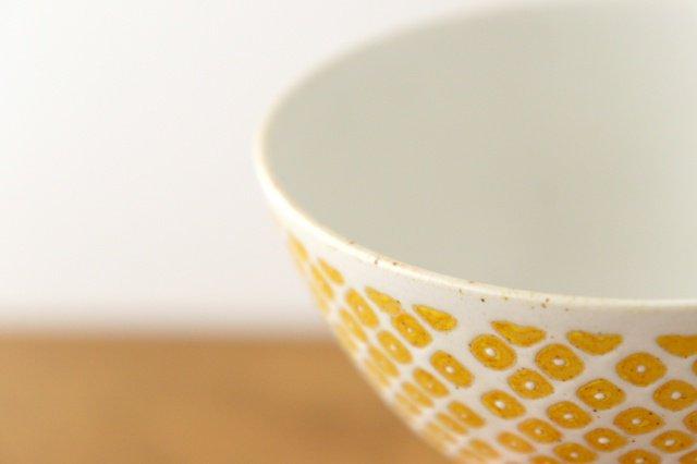 フロスト かのこ 飯碗 イエロー 磁器 波佐見焼 画像5