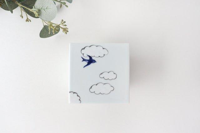 二段重 磁器 雲つばめ 有田焼 画像2
