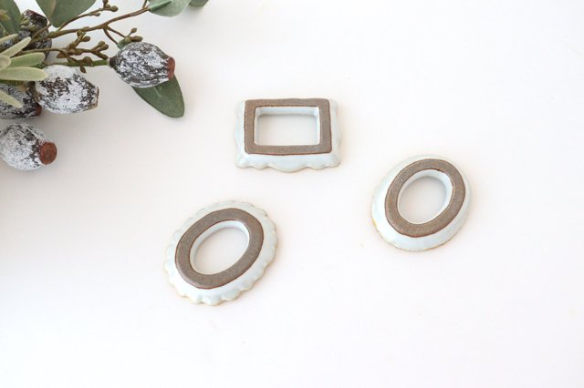 frame カトラリーレスト 3個セット 陶器 波佐見焼 sen 画像6