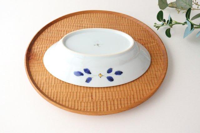 楕円鉢 花枝紋 磁器 有田焼 画像3