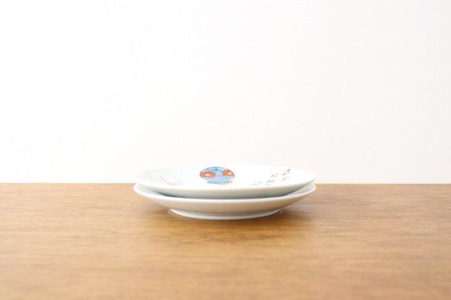 丸5寸取皿 伊万里瓢箪 磁器 有田焼 画像6