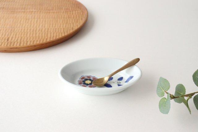 楕円小鉢 花枝紋 磁器 有田焼 画像5