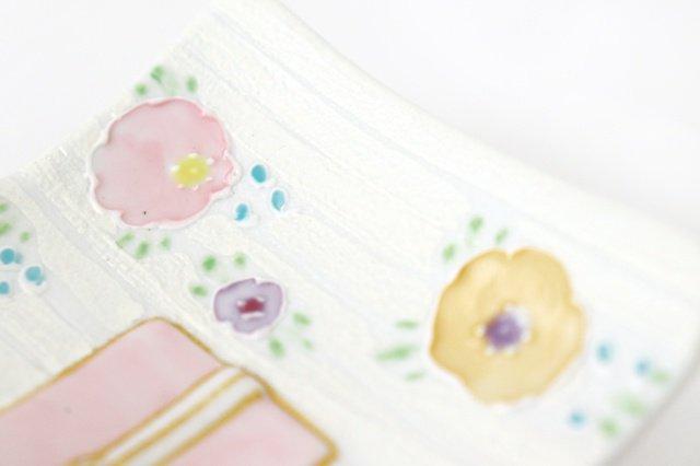 着物銘々皿 一珍輪花 磁器 M's呉服店 有田焼 画像2
