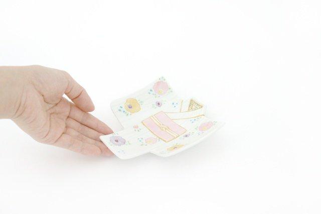 着物銘々皿 一珍輪花 磁器 M's呉服店 有田焼 画像5