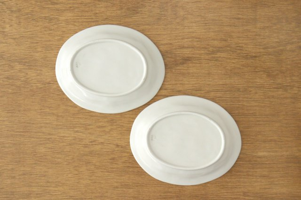 楕円取皿 サクランボ 磁器 fruits 波佐見焼 画像2