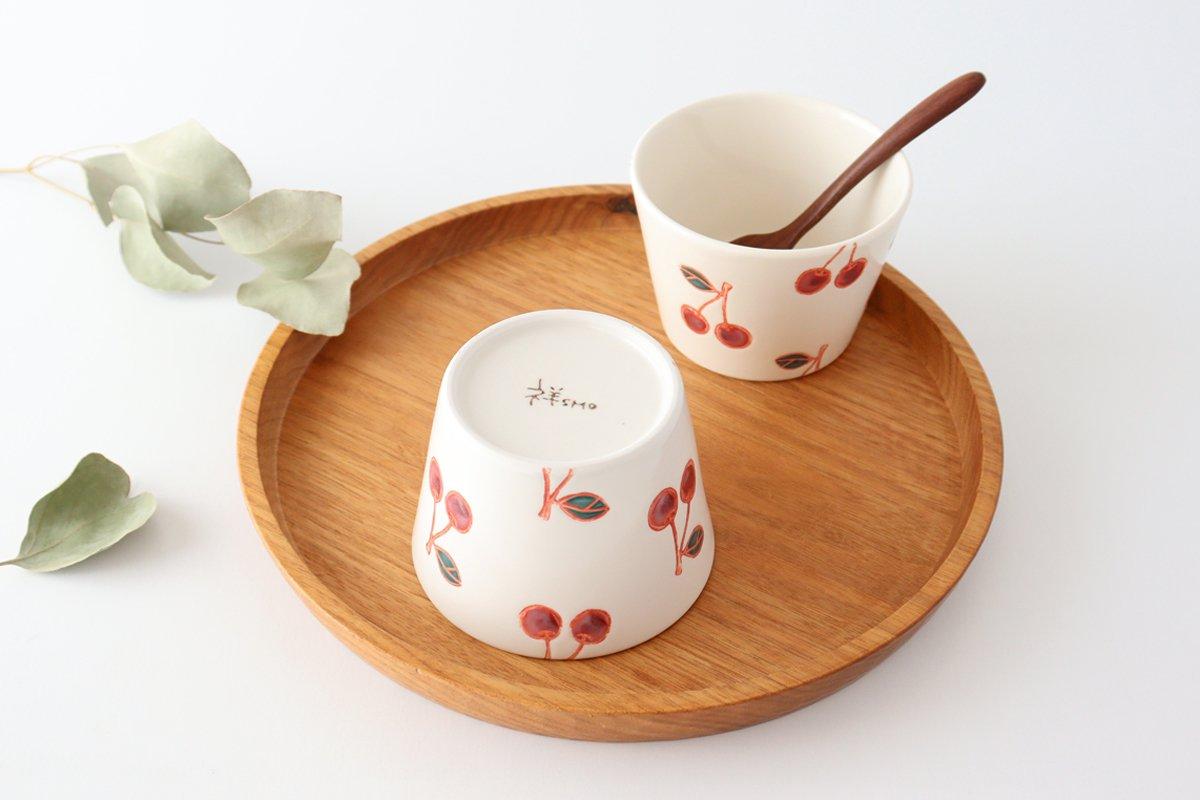 マルチカップ サクランボ 磁器 fruits 波佐見焼 画像2
